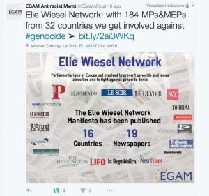 ELIE WIESEL NETWORK